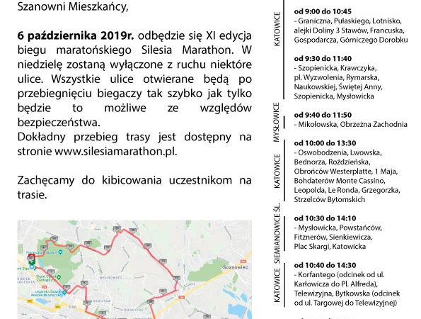 Silesia Marathon - 06.10.2019